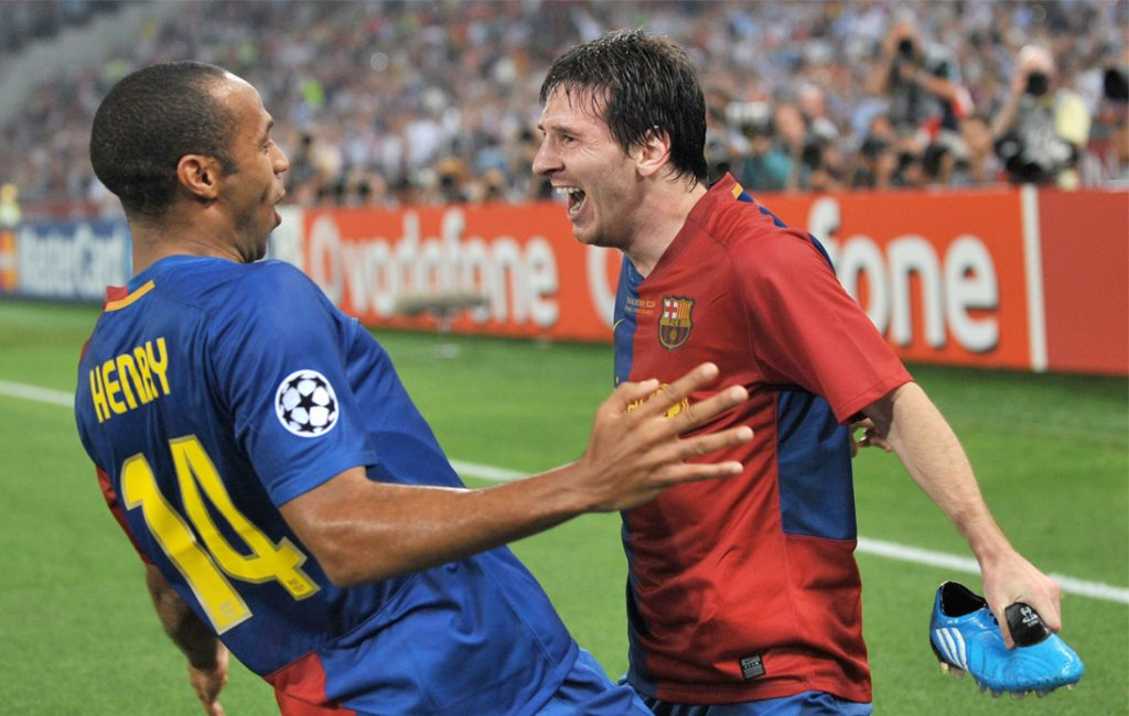 Henry Understands Messi's Reaction After Lyon Substitution