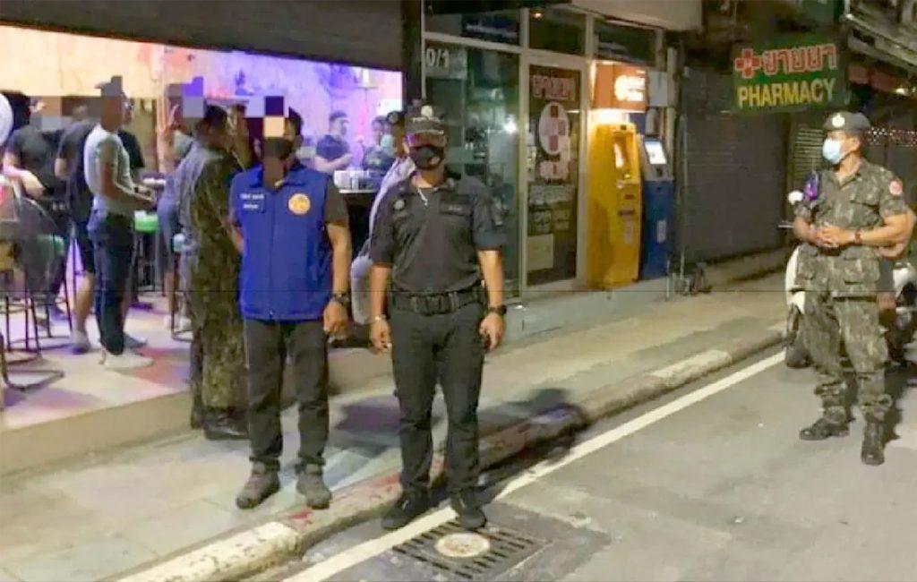 Phuket Police Raid Bangla Road Bars for Illegally Selling Alcohol