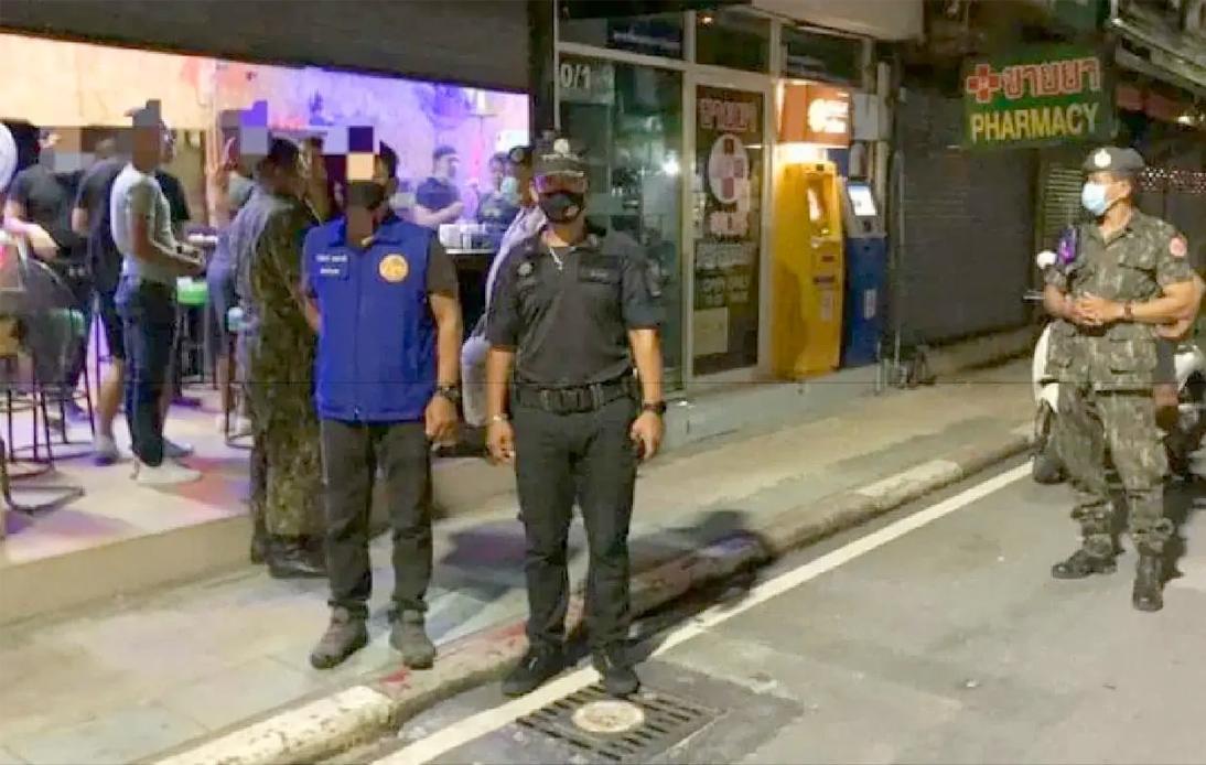 Phuket Police Raid Bangla Road Bars for Selling Alcohol