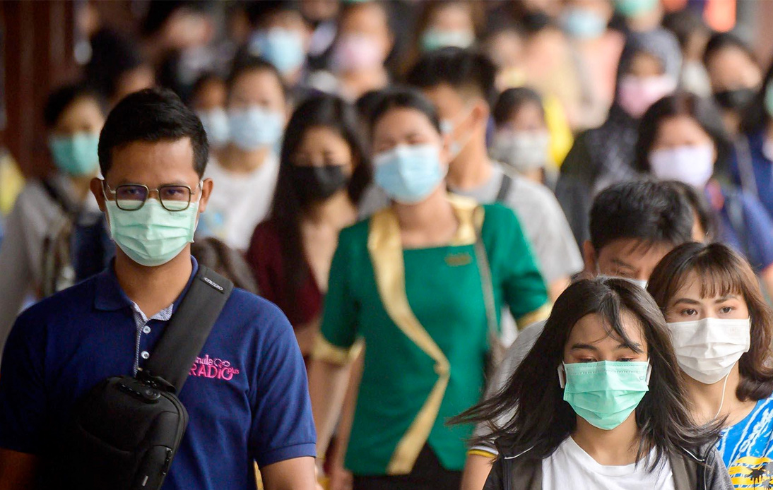 Thailand Logs 12,709 Covid-19 Infections and 106 Deaths Monday