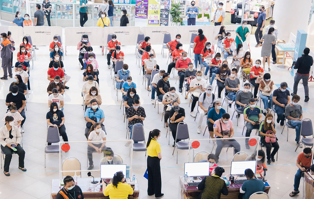 Vaccinations Surpass 50m After 1.4m Logged on Mahidol Day