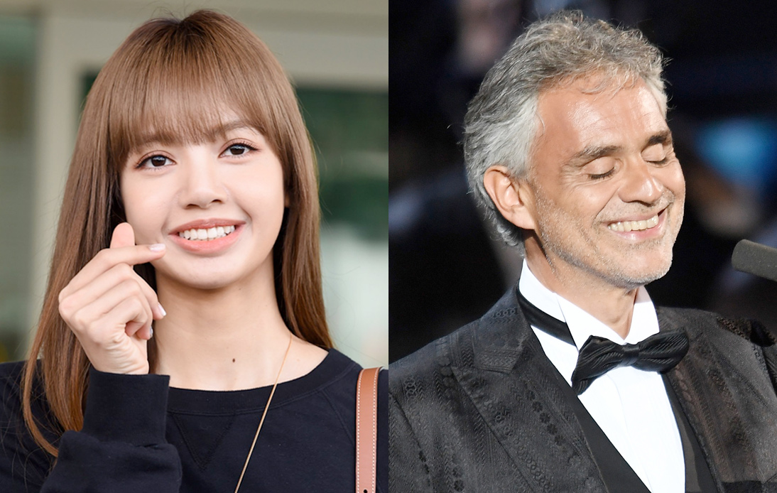 Lisa, Andrea Bocelli To Perform at Thai Countdown Shows