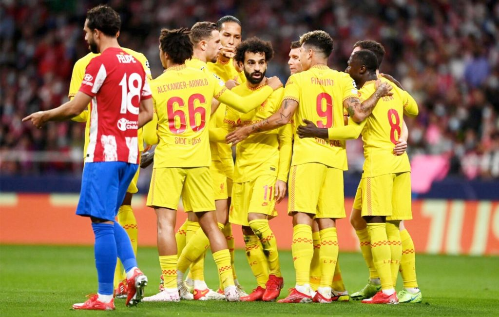 Salah Scores As Liverpool Wins in Madrid Against Atletico