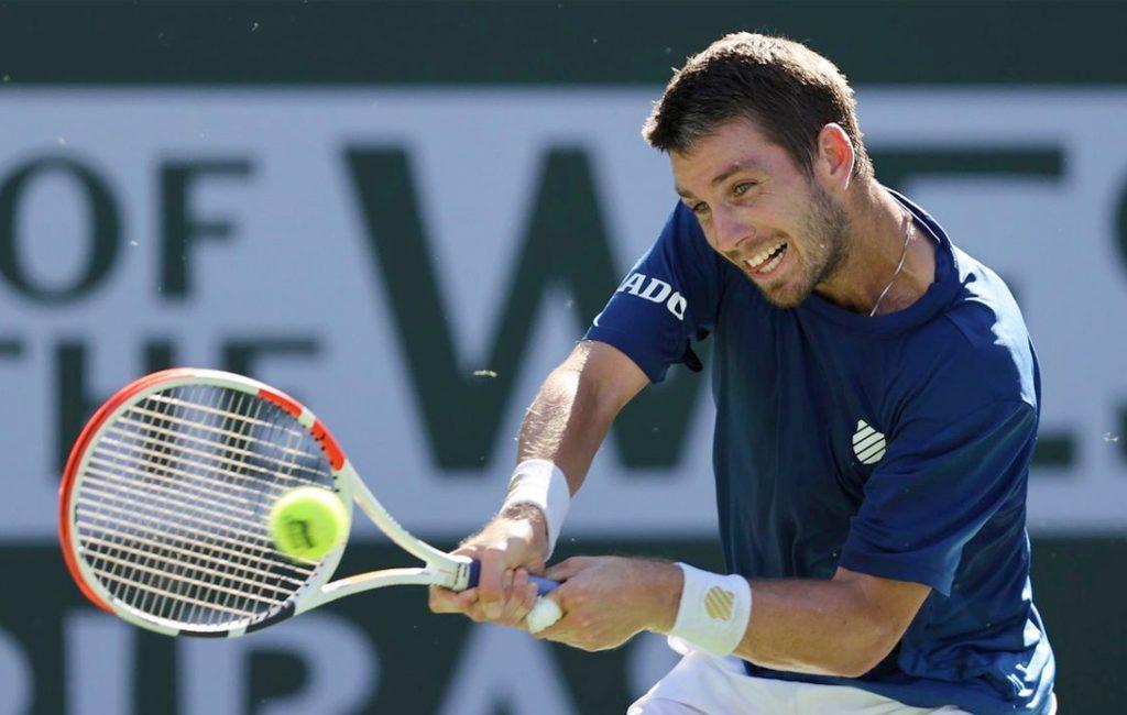 Norrie Reaches Indian Wells Semi-Finals, Beats Schwartzman