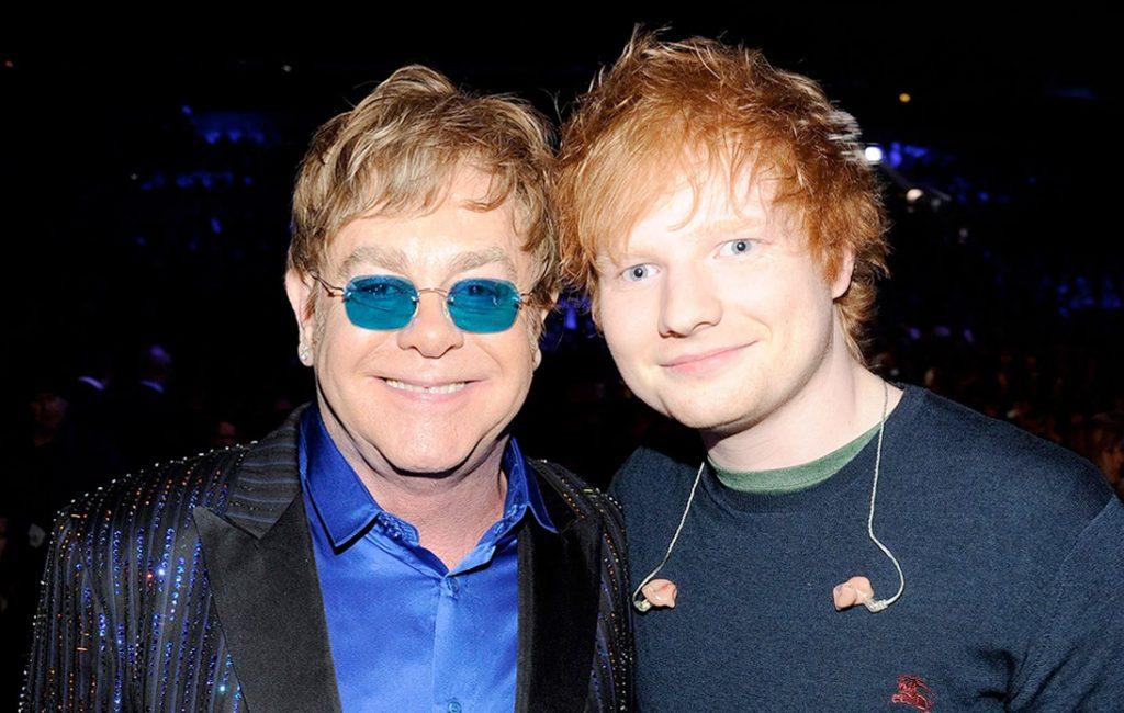 Ed Sheeran Announces Elton John Christmas Collaboration