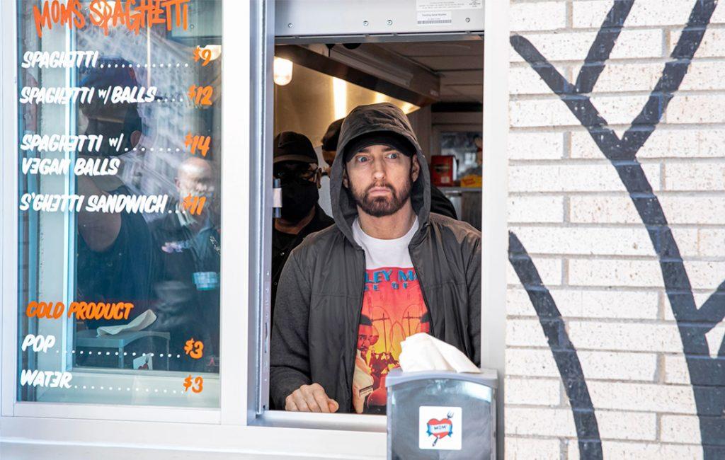 Eminem Serves Up Spaghetti at His New Detroit Restaurant