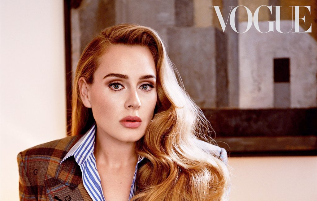 Adele Graces Vogue Cover Days After Unveiling New Music